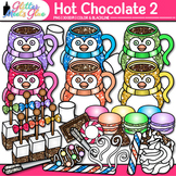 Hot Chocolate & Candy Clip Art | Winter Graphics of Food for Digital Resources 2