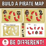 Build A Pirate Map Clipart