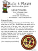 Build A Pizza {Addition Game}