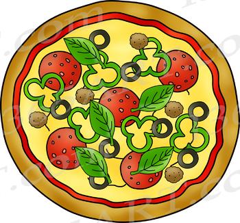 Build A Pizza Clip Art Bundle Pack