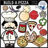 Build A Pizza Clip Art