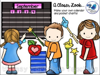 Build A Pocket Chart Clip Art