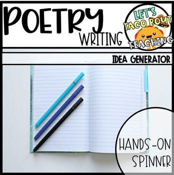 Build A Poem - Spinners to Encourage Poetry Writing