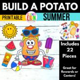 Build A Potato SUMMER Paper Doll Dress Up Reward