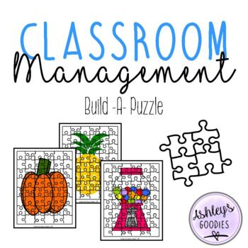 Build-A-Puzzle Classroom Management Tool/Activities