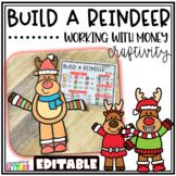 Build A Reindeer Money Activity