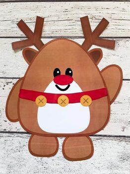 Build A Reindeer Printable Paper Craft