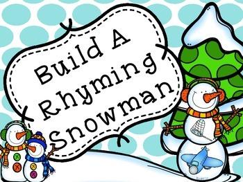 Build A Rhyming Snowman