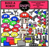 Build A Robot Clip Art Bundle {Educlips Clipart}