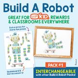 Build A Robot Pack #1  (VIPKID Rewards/Classroom Decor)