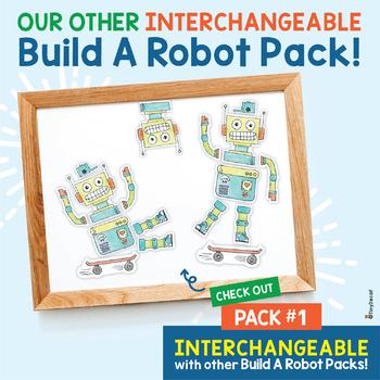 Build A Robot Pack #2  (VIPKID Rewards/Classroom Decor)