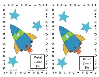 Build A Rocketship- Sight Word Practice