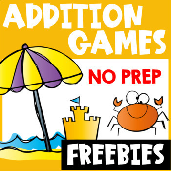 Addition Free: Addition Games for Addition Facts by Games 4 Learning