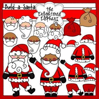 Build A Santa Clip Art