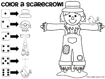 Build A Scarecrow: General Reinforcer Game {FREEBIE!}