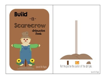 Build A Scarecrow: Interactive Book