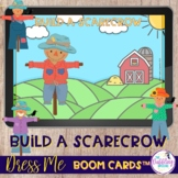 Build-A-Scarecrow Sequencing Boom Cards™