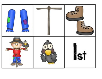 Build A Scarecrow { an ordinal number and sequencing activity}