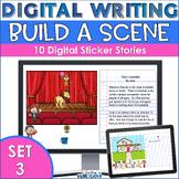 Build A Scene Digital Writing Prompts Set3 | Interactive D
