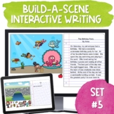 Build A Scene Digital Writing Prompts Set5 | Interactive D