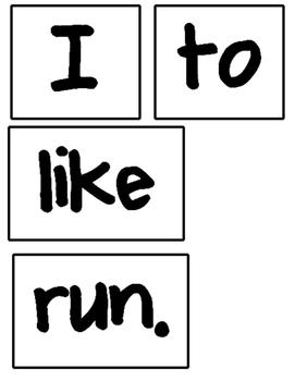 Build A Sentence!