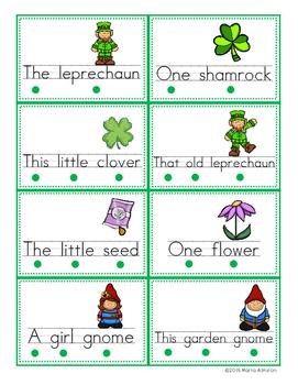 Build A Sentence - MARCH