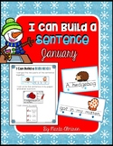 Build A Sentence for Beginner Writers - JANUARY