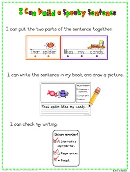 Build A Sentence for Beginning Writers - The Bundle