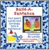 Build A Sentence For High Frequency Words