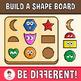 Build A Shape Board Clipart