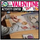 Valentine Math Activity Center: Build A Shape