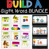 Build A Sight Word Bundle Digital Seesaw and Printable Activities