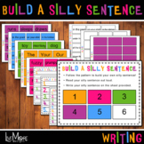 Build A Silly Sentence Colorful Writing Activity Set