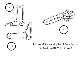 Build A Skeleton MATH Activity  (Programmable Problems)