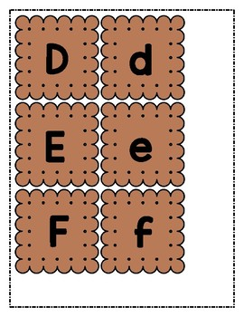 Build-A-Smore Letter Sounds Game