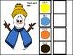 Build-A-Snowman Book: Modifier + Noun Constructions, Verbal Students & AAC Users