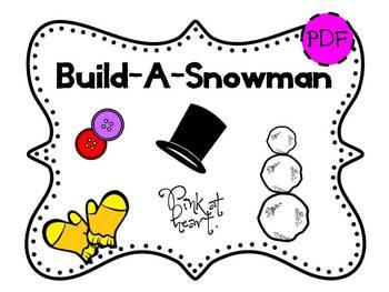 Build-A-Snowman Bulletin Board