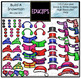 Build A Snowman Clip Art Bundle (Color and B&W) {Educlips