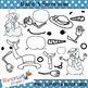 Winter Build a Snowman Clip art