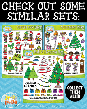 Build A Snowman Clipart {Zip-A-Dee-Doo-Dah Designs}