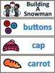 Build-A-Snowman Complete Writing Centre Packet