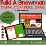 Build A Snowman - Digital Story Retell Game
