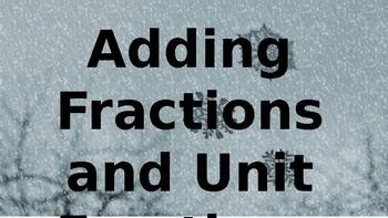 Build A Snowman Fraction Review