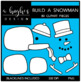 Build A Snowman Clipart {A Hughes Design}