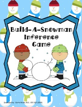 Build-A-Snowman Inference Game