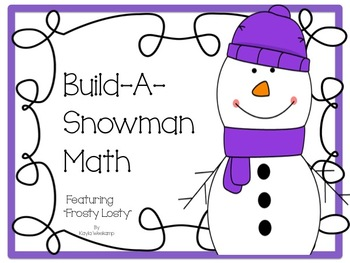 Print and Go Math *Build A Snowman!