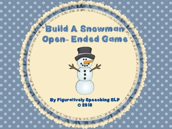 Build A Snowman Open-Ended Games