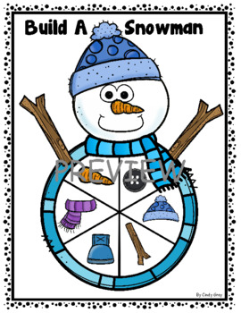 Build A Snowman ~ Reading High Frequency Words