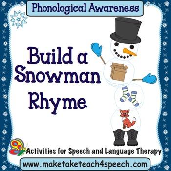 Build A Snowman - Rhyme