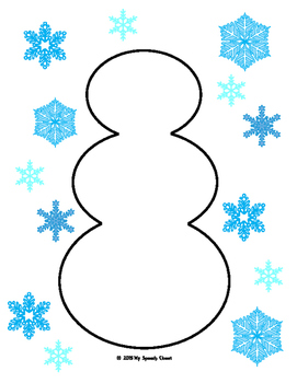 Build A Snowman Speech Therapy Game